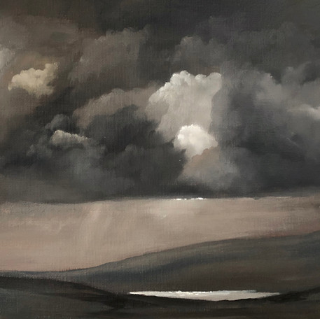 Rain Over Avon Dam - Sold