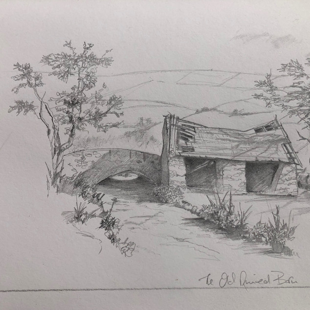 The Old Ruined Barn - Sold
