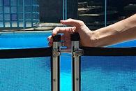 valla para piscina - acceso estandar