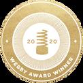 Webby 2020 award winner