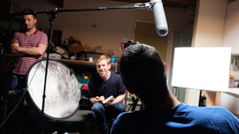 Behind Scenes - Tom interviews Ted Chees