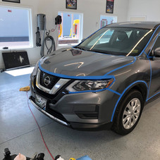 Nissan Exterior Wax & Surface Prep