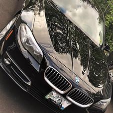 BMW Exterior Wax Job