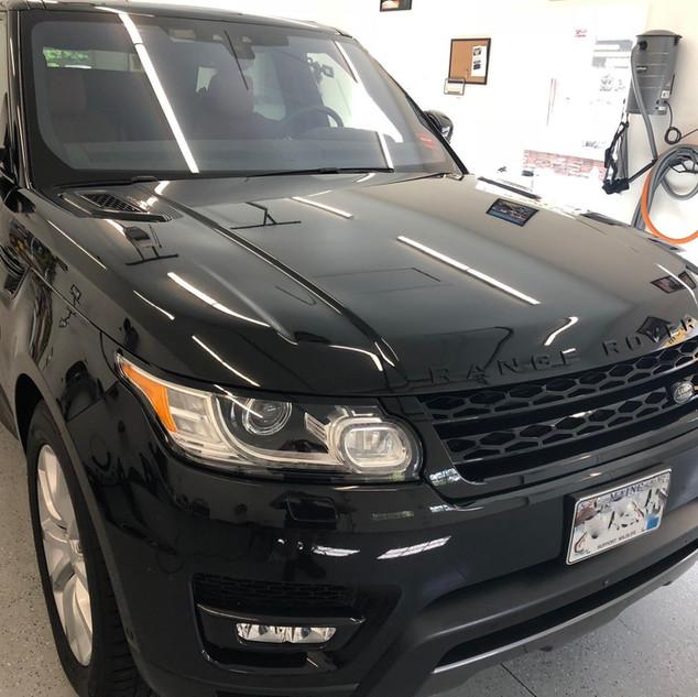 Range Rover Exterior Wax Job
