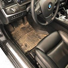 BMW Interior Before
