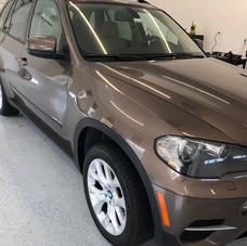 BMW Exterior Wax & Paint Treatment