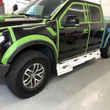 Truck Exterior Wax Prep