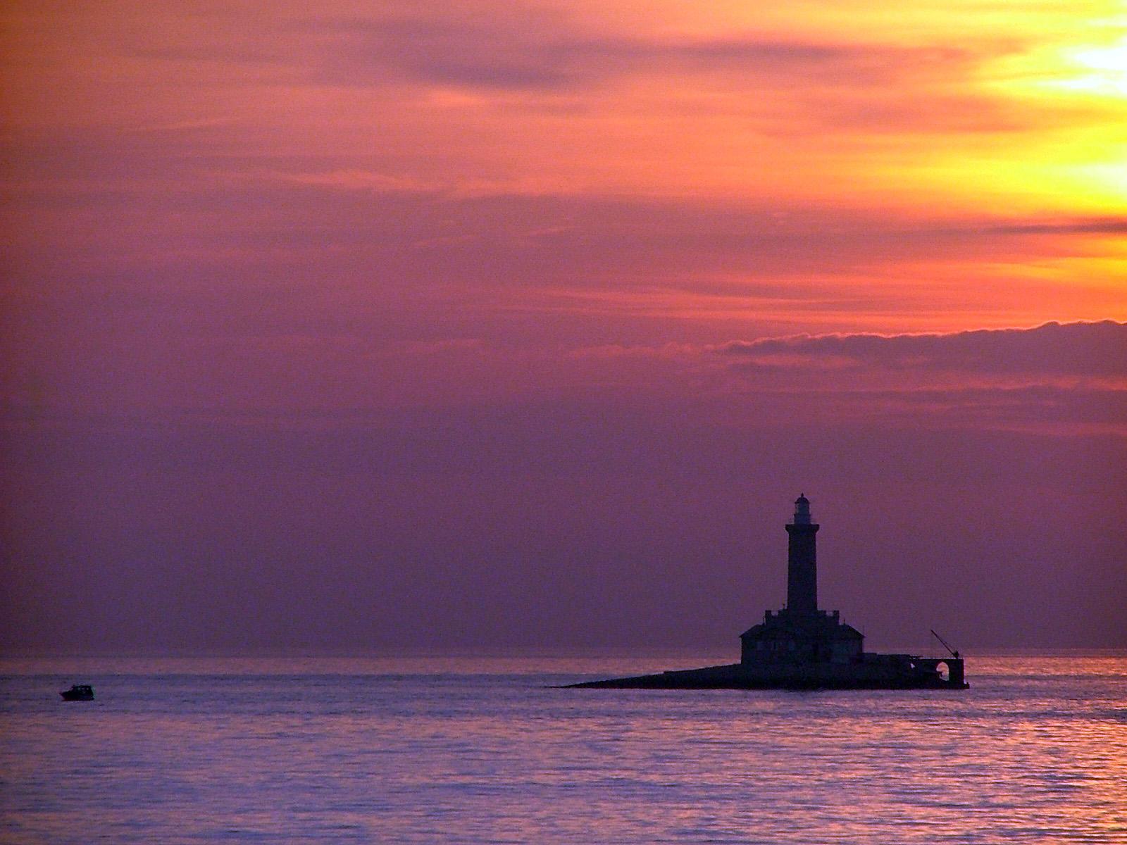 Sunset & Porer