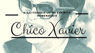 Kit Literário de Abril/18 tem homenagem a Chico Xavier