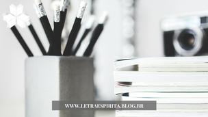 Poesia Espírita: Ser Escritor