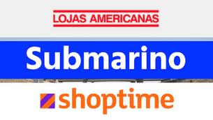 Letra Espírita na Americanas, Submarino e Shoptime