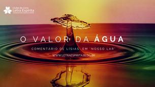 O Valor da Água
