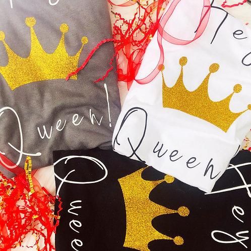 Hey Queen (crew neck shirts)