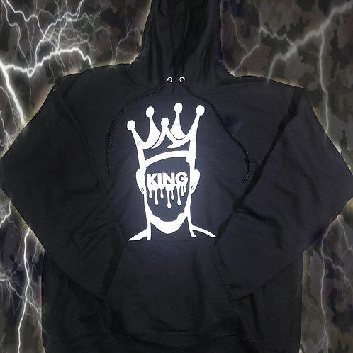 Black Drip King Hoods