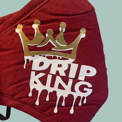 Drip King Mask