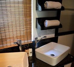 Mopane bathroom