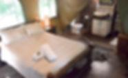 Acacia Luxury Tent interior