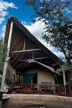 Acacia Luxury Tent Exterior