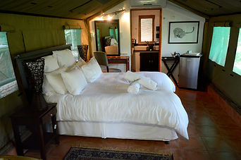 Mopane bedroom and interior