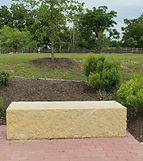 Southwest Monument & Sign - Stone Bench