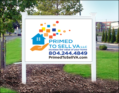 Primed to Sell Sign