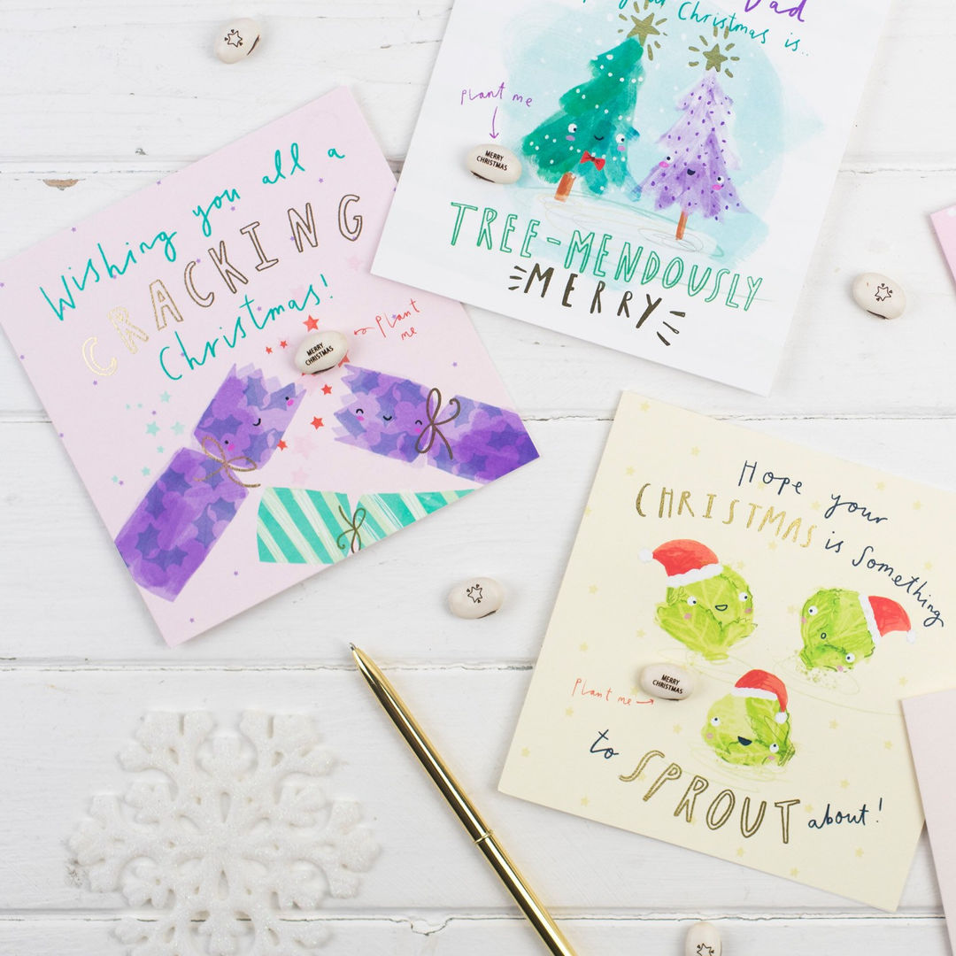 CHRISTMAS CARDS - LUCY AND LOLLY