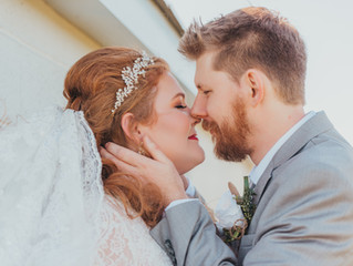 Abby and Justin | Elegant Barn Wedding | The Daisy Farm | Jefferson City Wedding