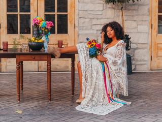 Bohemian Color Pop Wedding | Stone House of St. Charles | STL Vendor Shoot