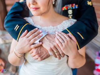 Ashley + Luke | The Lodge At Grant's Trail | Classy Military Wedding