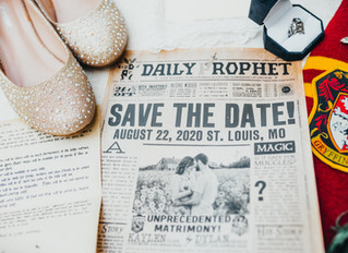 Enchanted Wedding | Harry Potter Details | Forest Park | Washington University | Quail Ridge Lodge