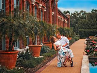 Lauren & Randy | Missouri Botanical Gardens | Tower Grove Park | Engagement