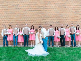 Rustic Summer Wedding | St. Charles, Mo.