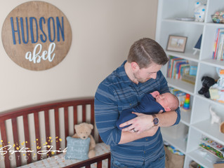Hudson Abel - In Home Newborn Session