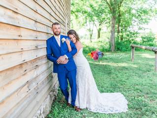 Alina + Blake | Old Peace Chapel | Vintage Church Wedding | STL Photographer