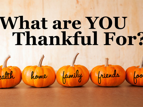 The Many Benefits of Giving Thanks