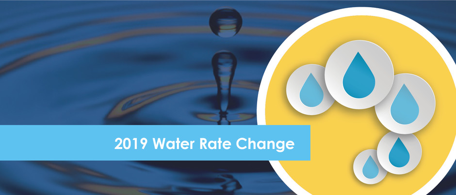 Water Rate Change