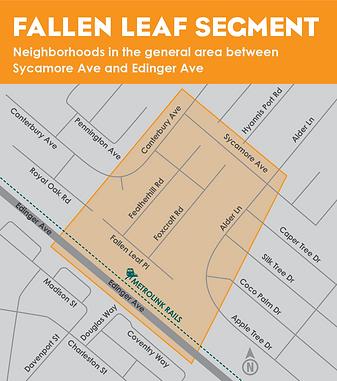 Fallen Leaf segement map