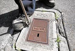 Accessing water meter
