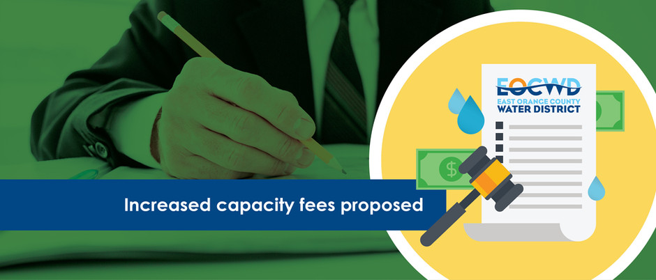 Water and sewer capacity fee increases proposed