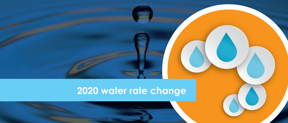2020 water rate change