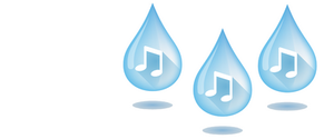 musical water drops