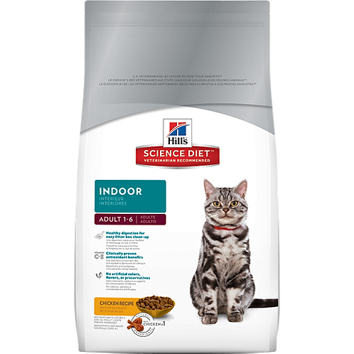 Science Diet Indoor Cat Food 2KG