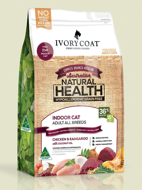 Ivory Coat Indoor Cat Food 3KG