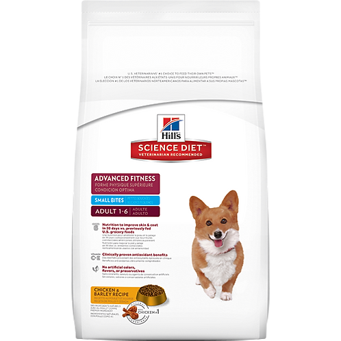 Science Diet Advanced Fitness Dog Food 2KG