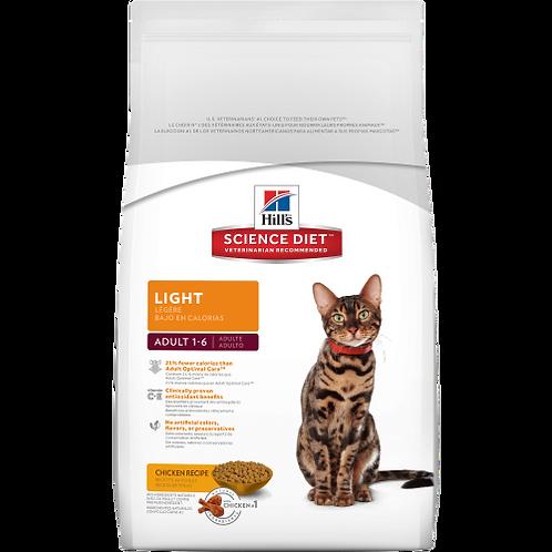 Science Diet Light Adult Cat Food 2KG