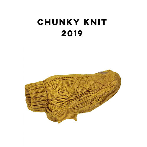 Chunky Knit Dog Jumper