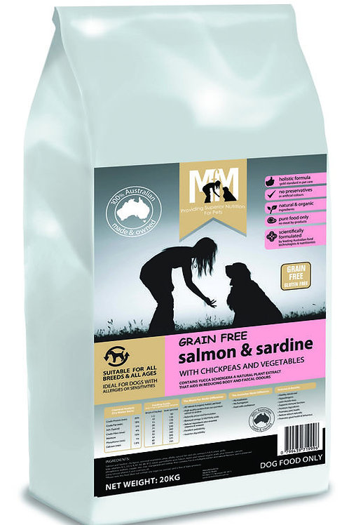 Meals for Mutts Dog Salmon & Sardine