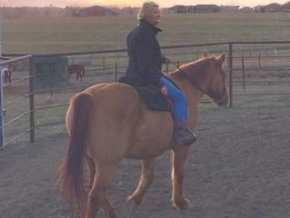 Mona rides again!
