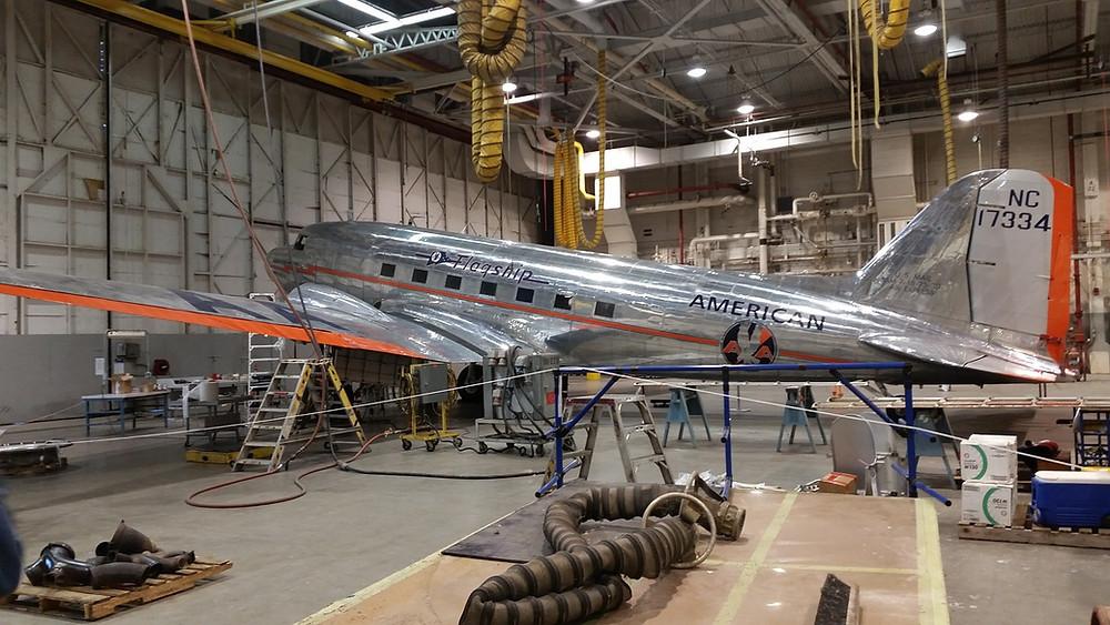 American airlines legionella