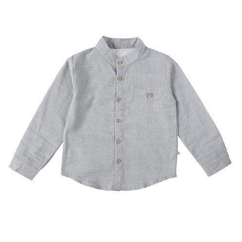 חולצת לואיס אפור פסים